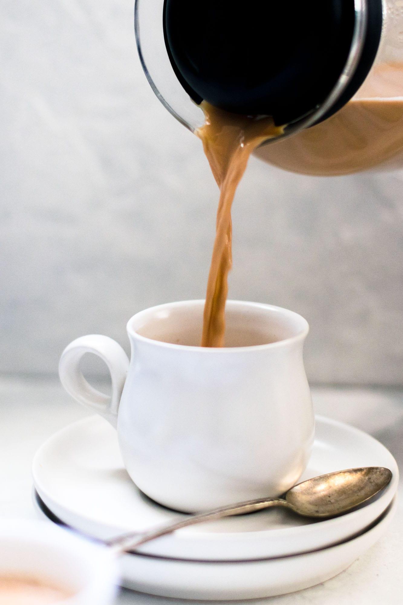 Authentic Pakistani Chai Pour