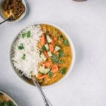 Easy Red Lentil Curry - Masoor Dal