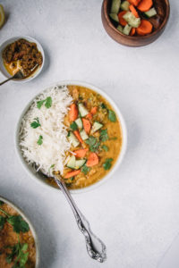 Easy Red Lentil Curry