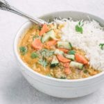 Easy Red Lentil Curry - Masoor Dal