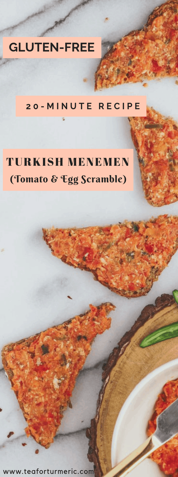 Menemen is a nutritious Turkish breakfast that is easy to prepare with simple ingredients like peppers, tomatoes, and eggs. Yet the combination of flavors and style of cooking gives it an exotic taste.