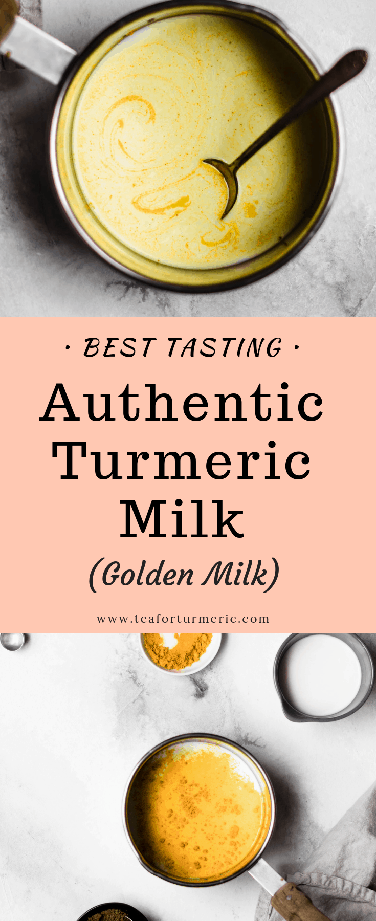 Turmeric Milk (haldi ka doodh) is an ancient Ayurvedic drink that\'s known for its anti-inflammatory properties. This quick and easy recipe is optimized for absorption, includes several warming spices and tastes perfectly sweet, rich, yet light and comforting.