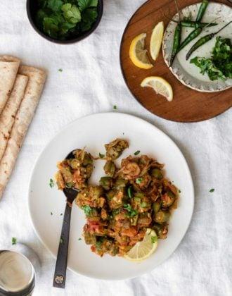 Bhindi - Okra Curry