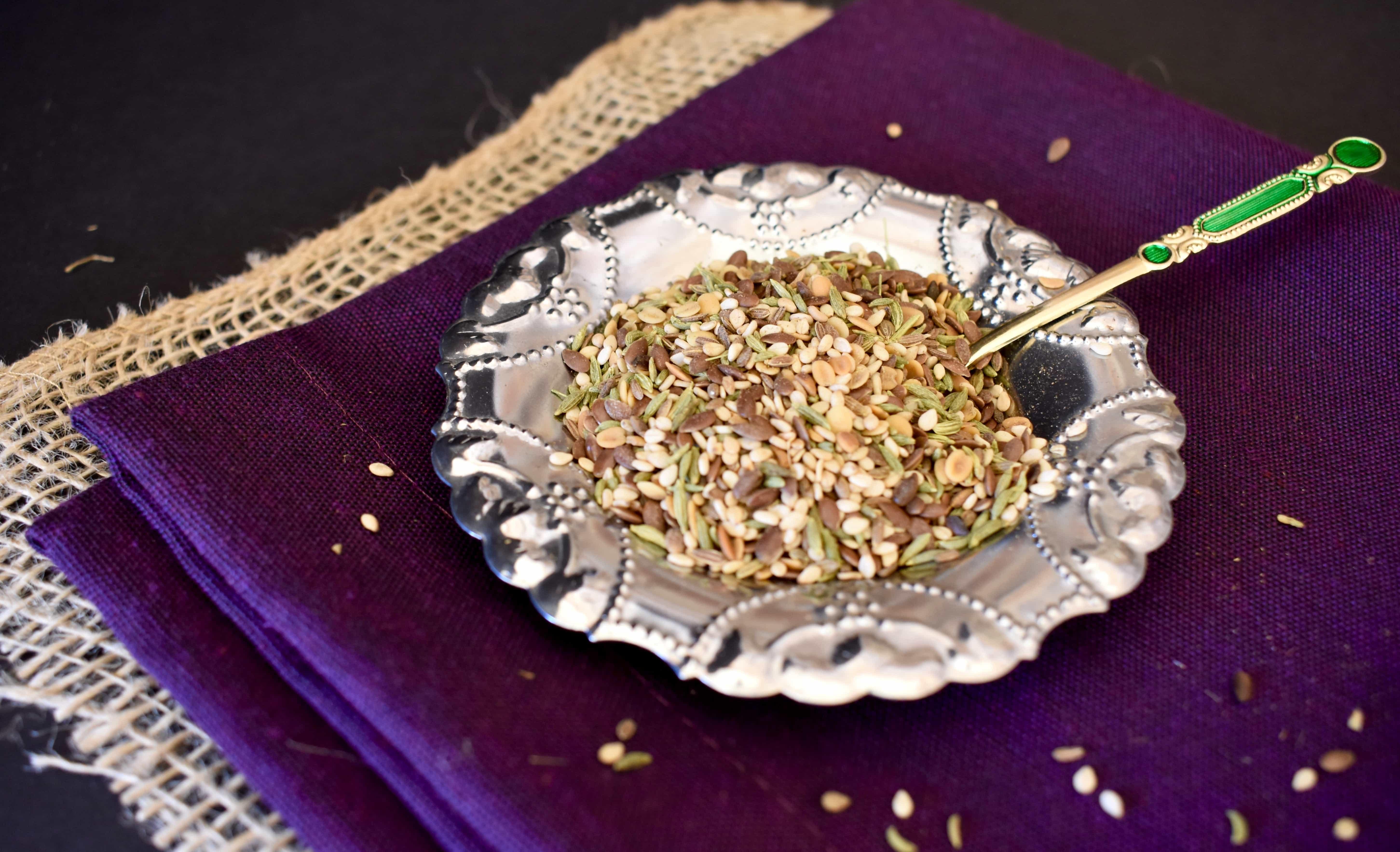 Mrs Patels Munch crunch tea for turmeric