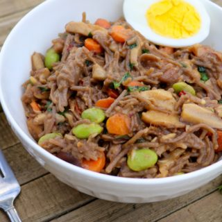 Stir-Fried Soba Noodles with Vegetables - Gluten Free