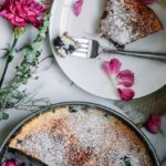 Gluten-Free Blueberry Lemon Clafoutis