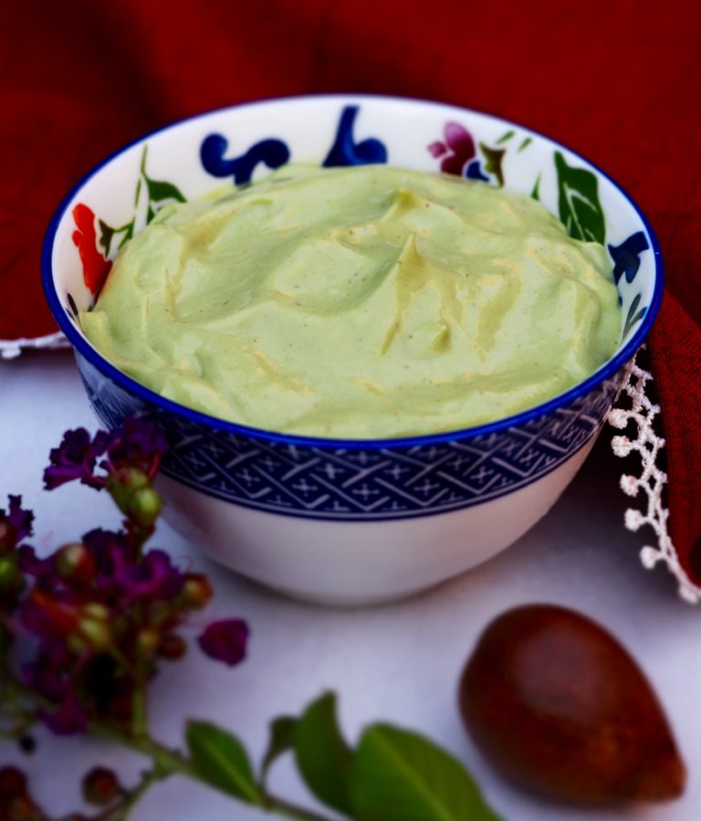creamy avocado pudding