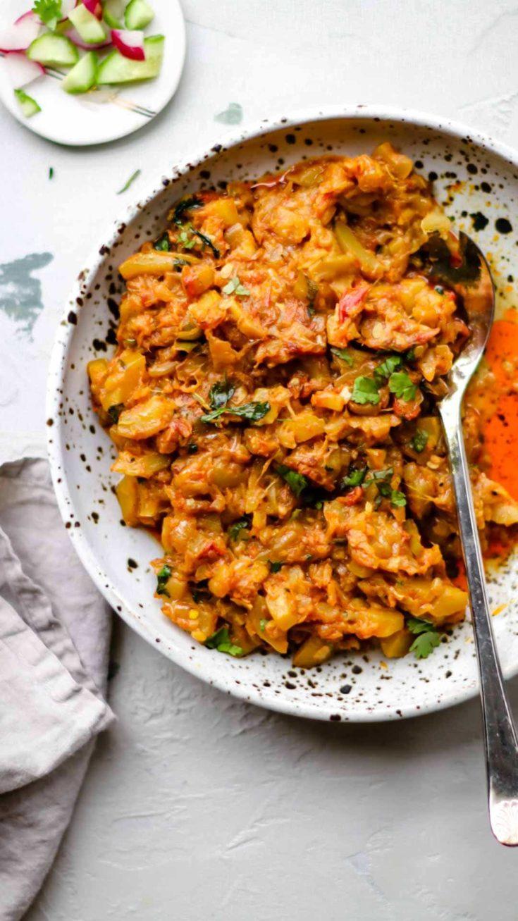Pakistani Zucchini (Courgette) Curry | Toriyan (Torai ki Sabzi)