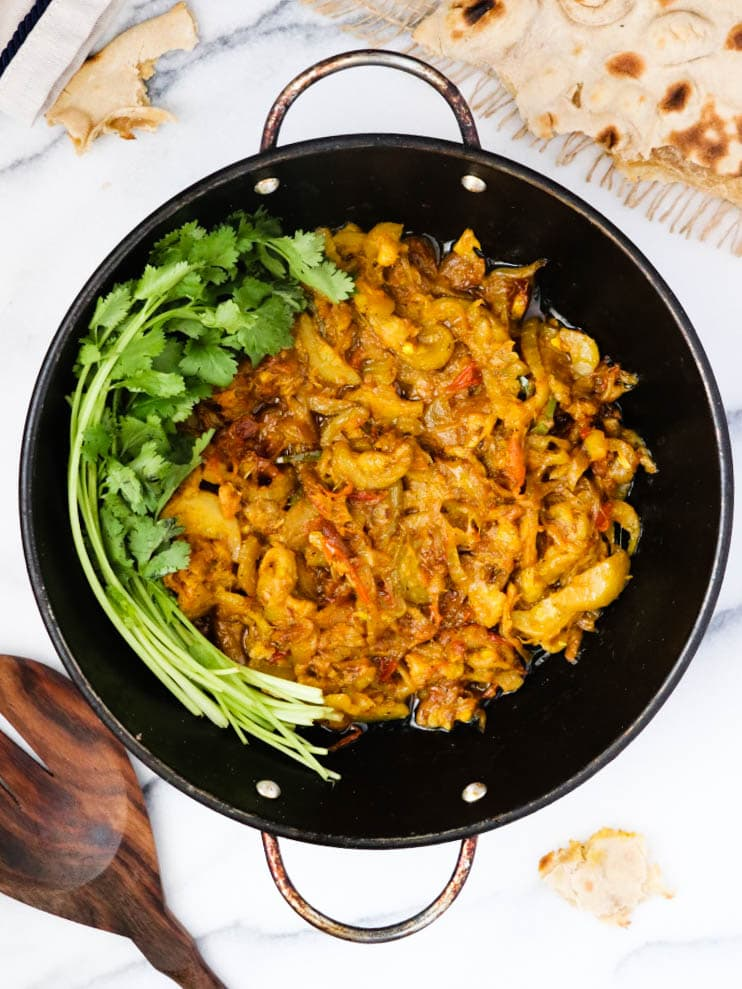 Zucchini Curry - Toriyan