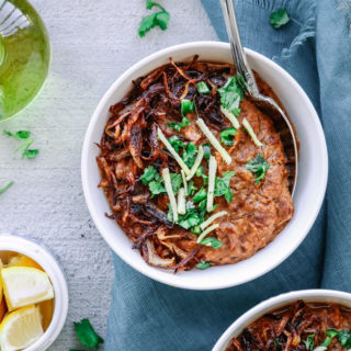 Easier Slow Cooker Haleem (Traditional Pakistani Beef and Lentil Stew)