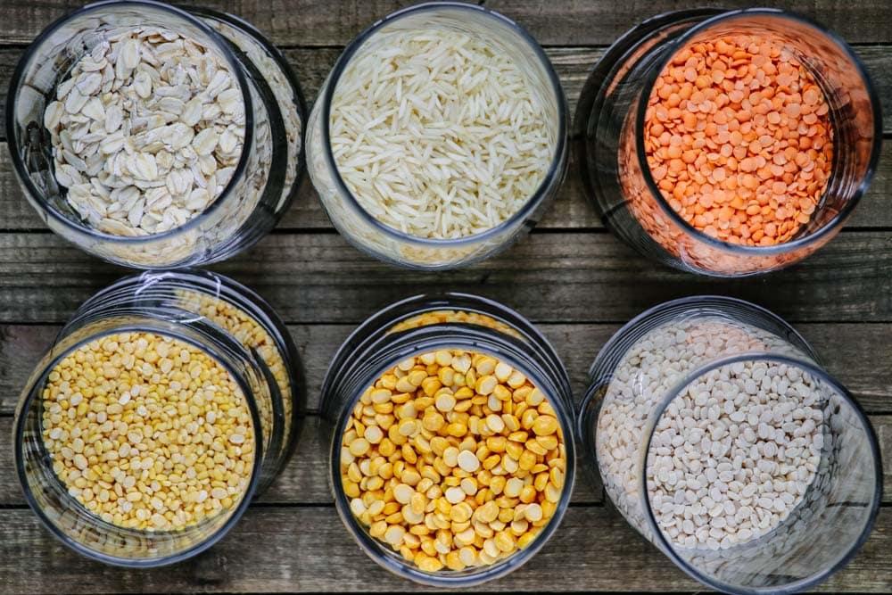 Lentils and Grains for Haleem