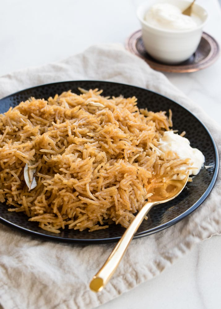 Easy Jaggery Rice - Gur Waley Chawal