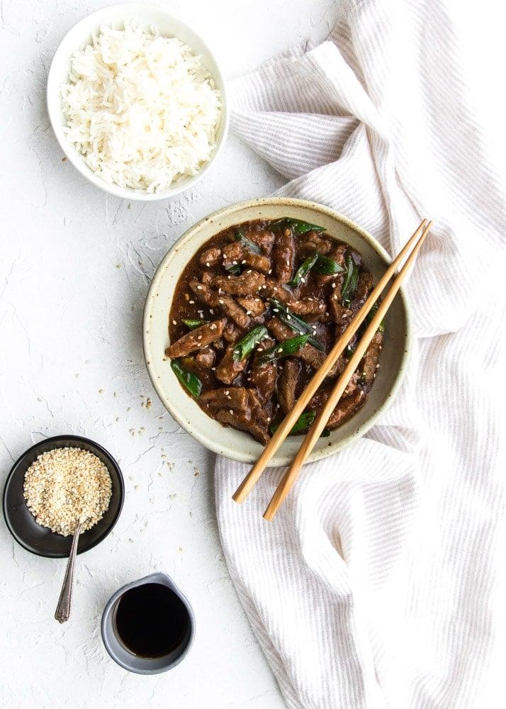 Saucy Mongolian Beef - Gluten-free