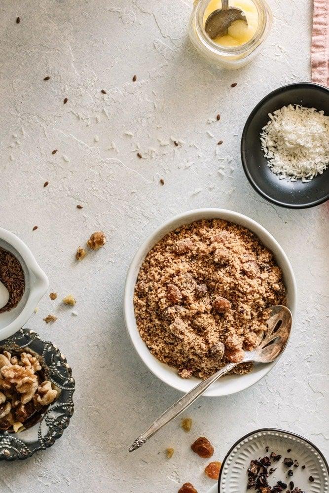 Panjeeri – Postpartum Healing and Lactation Recipe - teaforturmeric