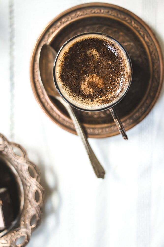 Turkish Coffee foam