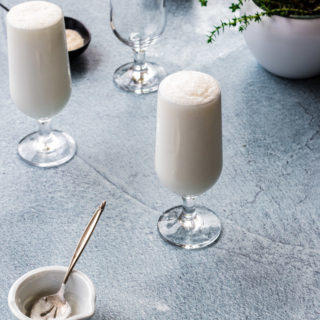 Plain Sweet Lassi (with the perfect ratios!)