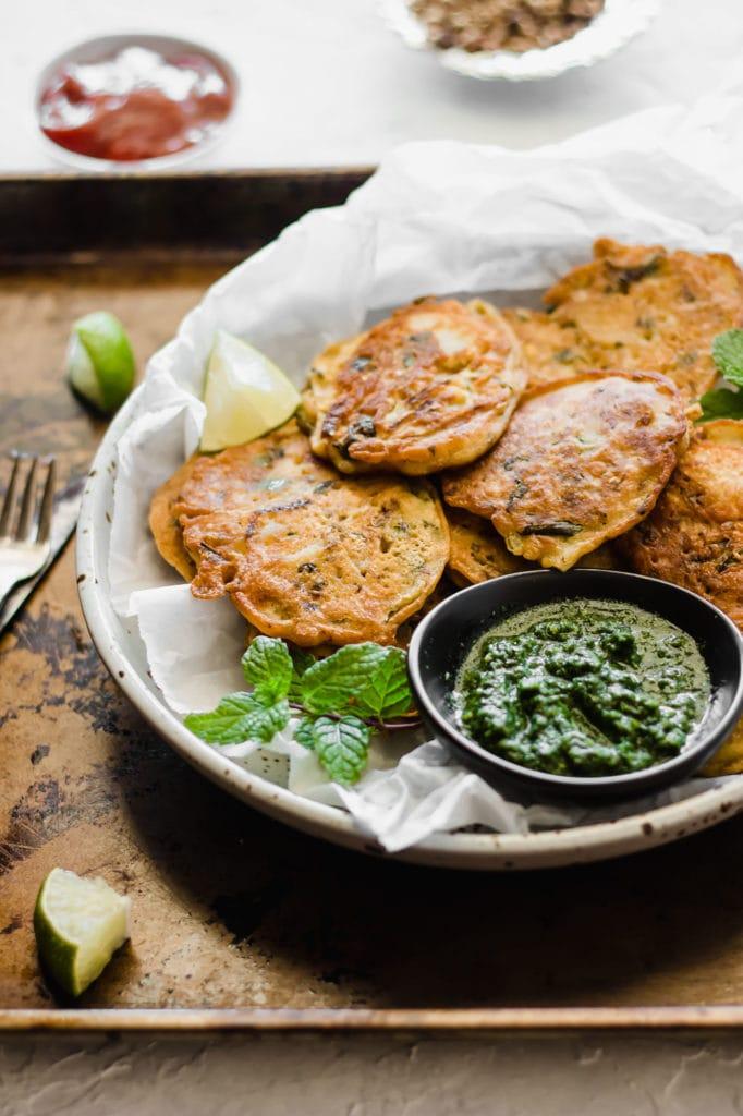 Healthier Pan Fried Pakora Recipe-2