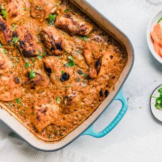 Baked Tandoori Chicken Curry