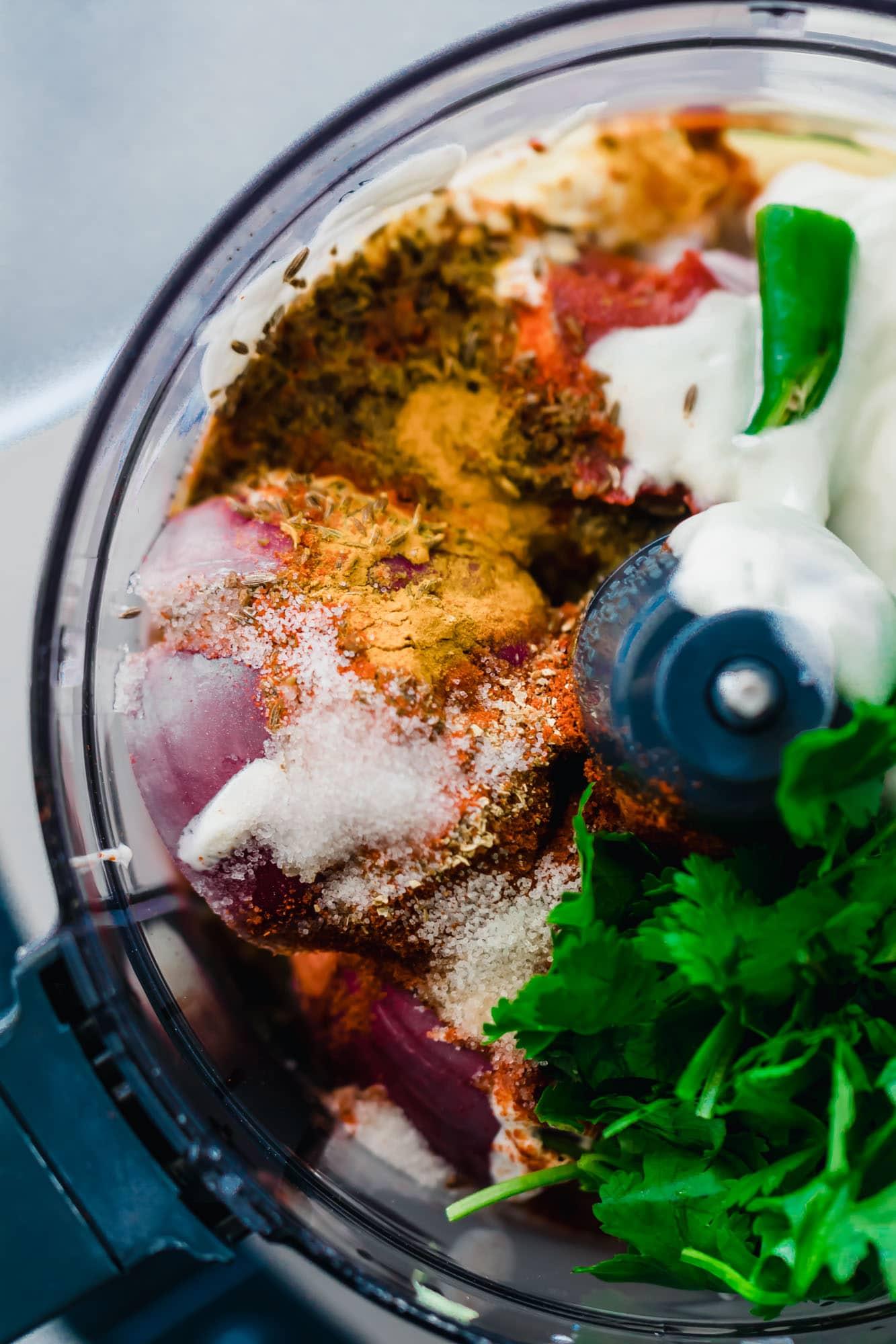 Baked Tandoori Chicken Curry