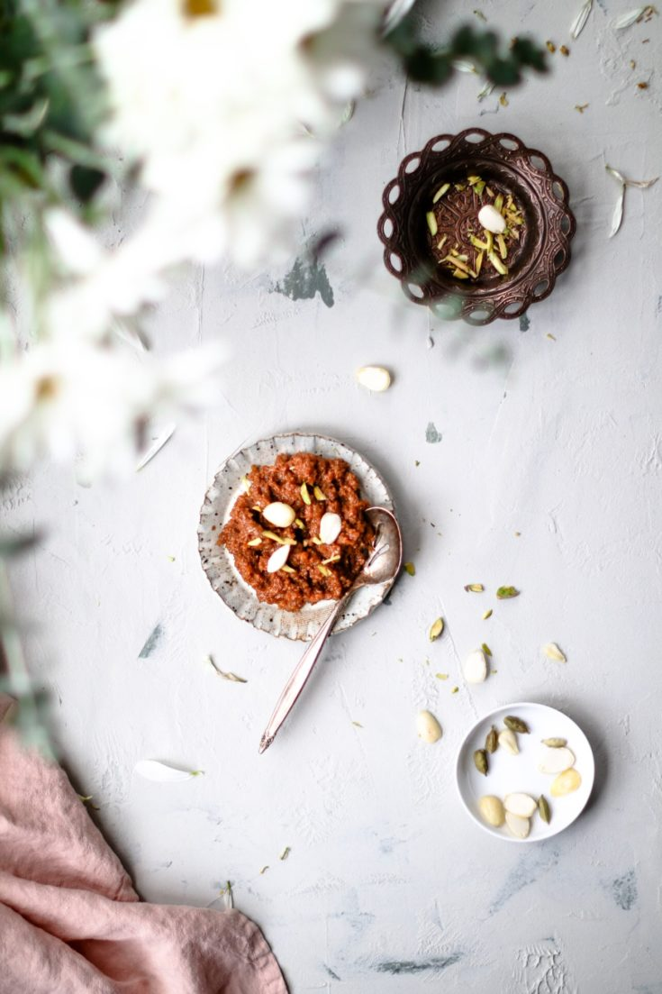 Instant Pot Carrot Halwa (Gajar ka Halwa)