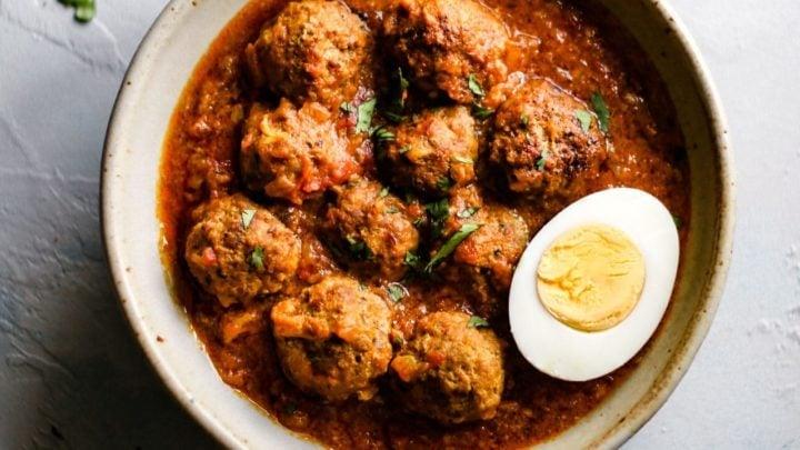 Pakistani Beef Kofta Curry-2