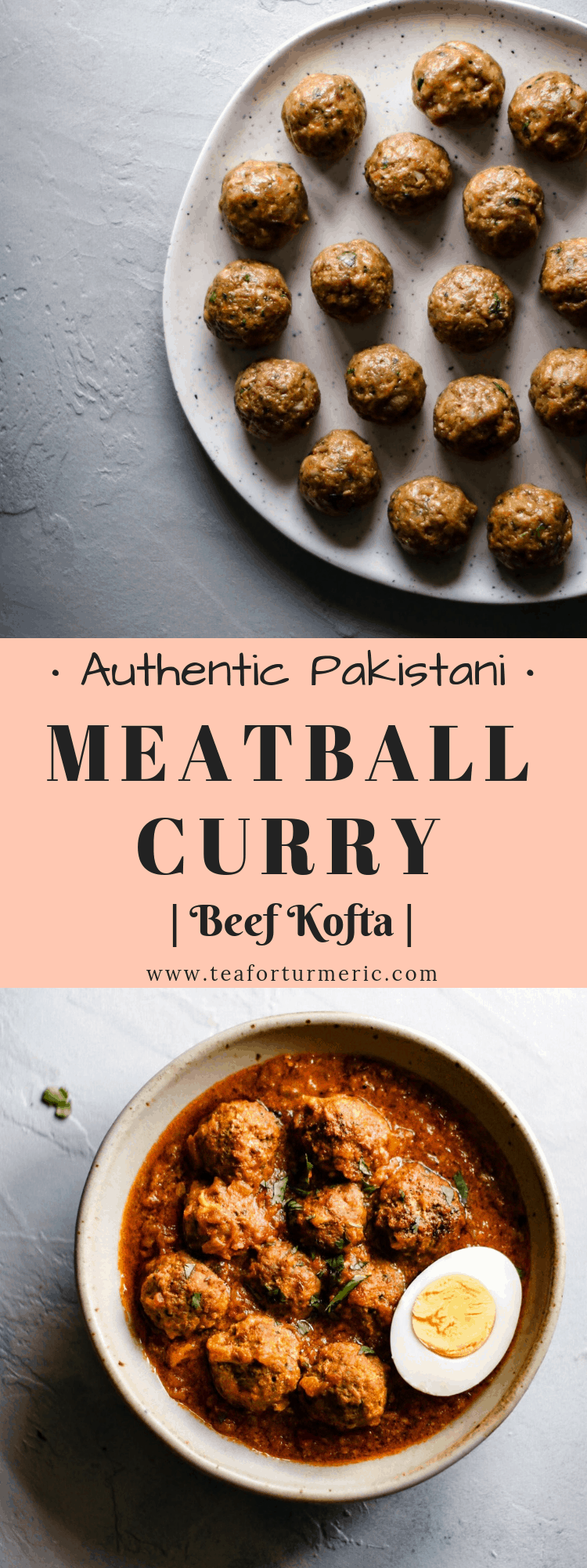 Beef Kofta Curry, or simply kofte, is a traditional Pakistani curry made of tender meatballs simmered in a spicy, flavorful sauce. This recipe has all the authentic flavor of old-fashioned kofte but it\'s made in an easier, more approachable way.