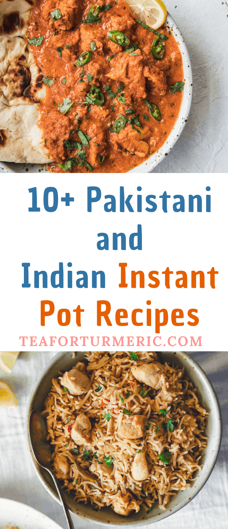 10+ Easy Pakistani and Indian Instant Pot recipes that are perfect for every day! These tried-and-tested recipes are delicious, healthy, and 100% delicious. #pakistani #indianinstantpot #instantpot