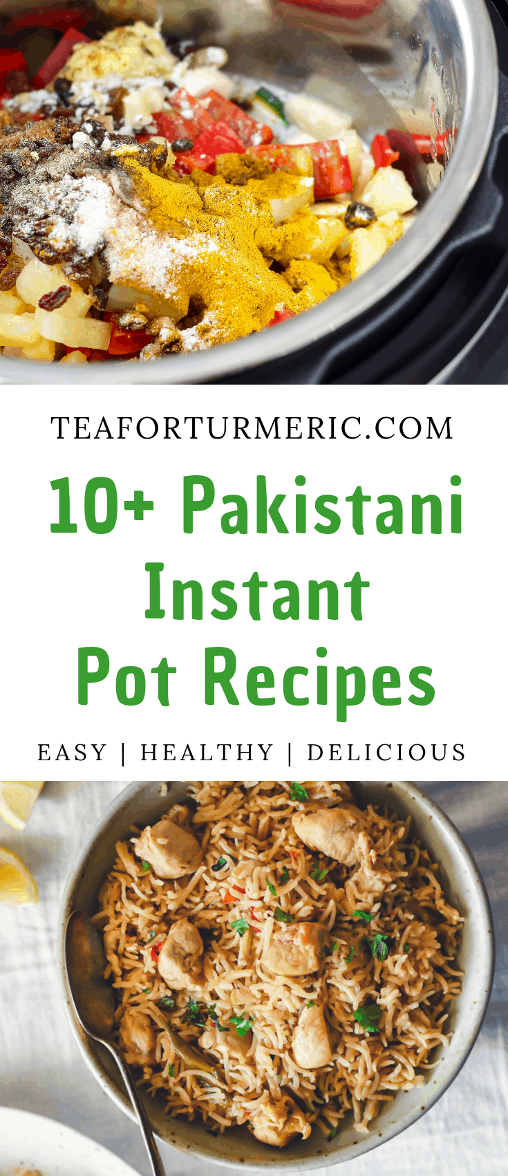 10+ Easy Pakistani Instant Pot recipes that are perfect for every day! These tried-and-tested recipes are delicious, healthy, and 100% delicious.