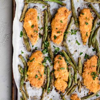 Baked Peri Peri Chicken Tenders with Masala Green Beans