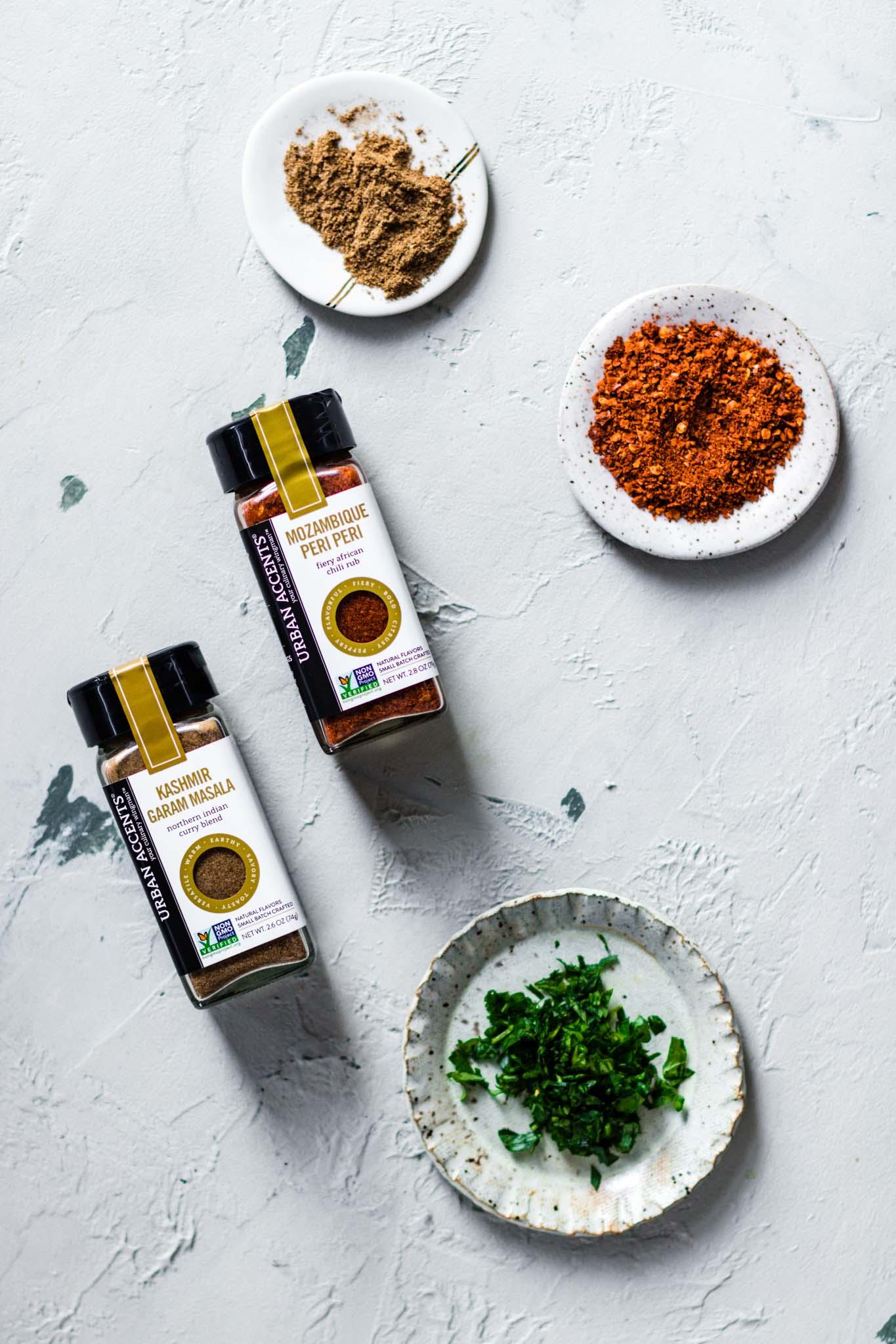 Mozambique Peri Peri and Garam Masala Spice Blends