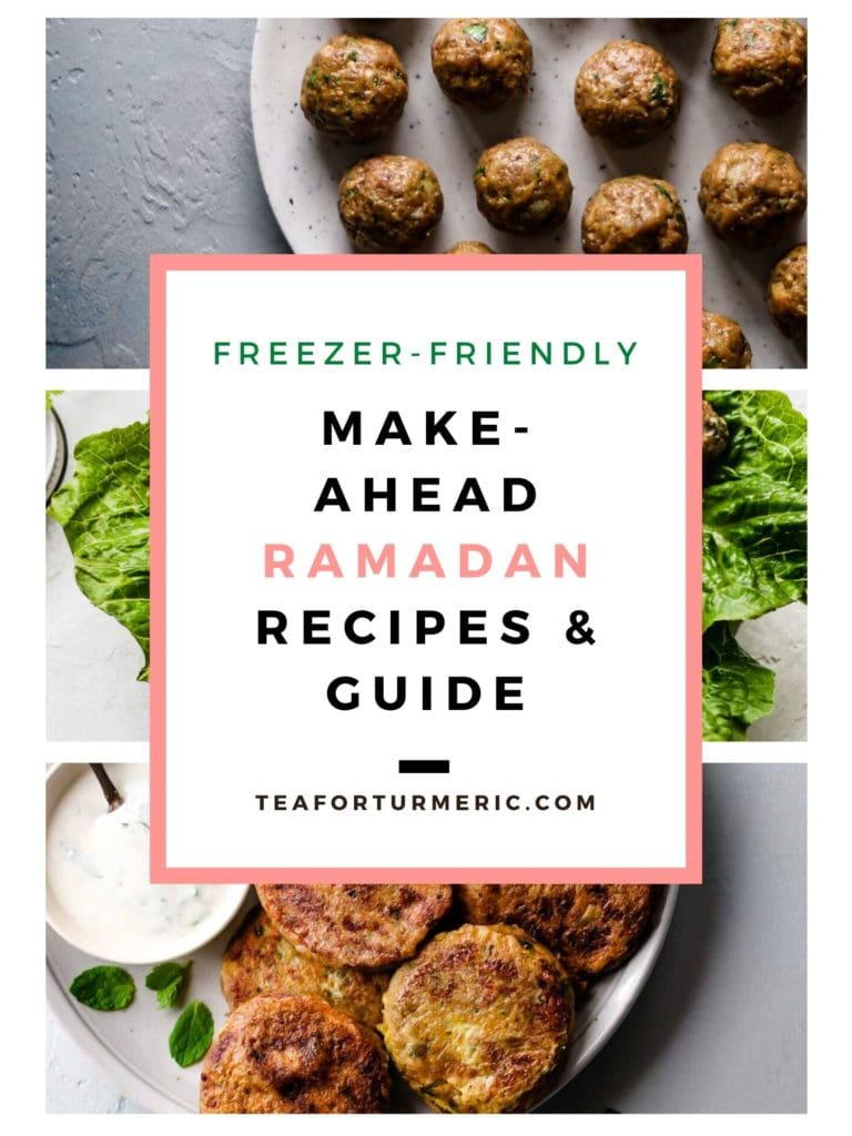 Make Ahead Ramadan Recipes and Guide
